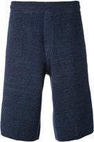 Missoni knit shorts - men - Cotton/Linen/Flax/Polyester - 46