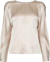 Vince round neck blouse - women - Silk - M