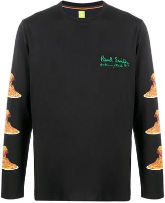Paul Smith spaghetti print T-shirt