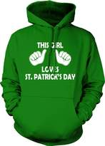 Crazy Dog T-shirts Crazy Dog Thirt Thi Girl Lovet Patrick Day Hoodie Funnyweathirt For Women