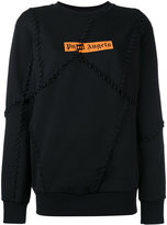 Palm Angels big seams sweatshirt - women - Cotton - XXS