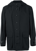 Lemaire hooded coat - men - Cotton - S
