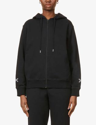 Kenzo Sport branded cotton-blend hoody