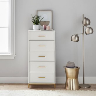 Pottery Barn Teen Blaire 5-Drawer Small Space Tall Dresser