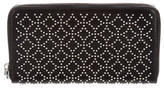 Alaia Studded Leather Wallet