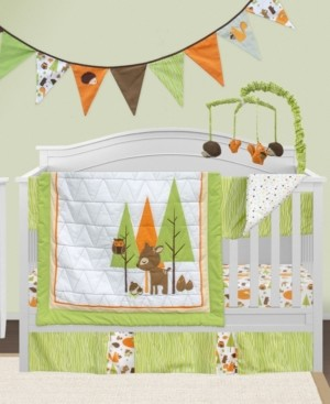 Pam Grace Creations 6 Piece Crib Bedding Set Bedding