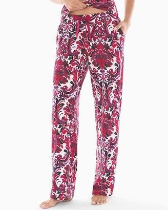 Embraceable Pajama Pants Refined Damask RG