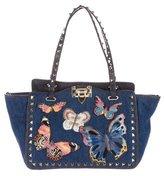 Valentino 2016 Small Butterflies Rockstud Bag