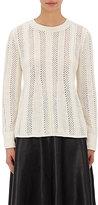 TOMORROWLAND Women's Pointelle-Knit Sweater