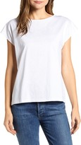 Tommy Hilfiger Embroidered Cap Sleeve Tee