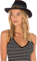 Brixton Fiona Fedora in Black. - size M (also in S,XS)