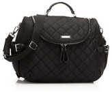 Storksak Infant Poppy Convertible Diaper Bag - Black