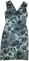 Christian Dior Grey Silk Dress