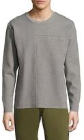 Lot 78 Technical Cotton Crewneck Sweater