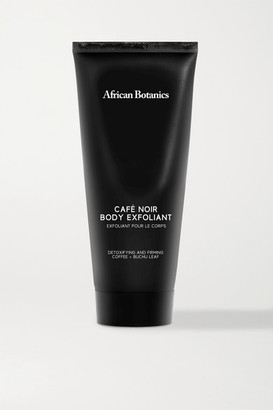 African Botanics Cafe Noir Body Exfoliant, 200ml