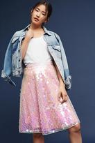 Eva Franco Sequined Tulle Skirt