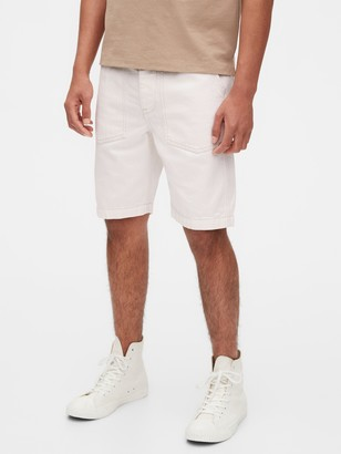 "Gap 9"" Denim Utility Shorts"