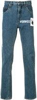 Helmut Lang Cowboy print jeans