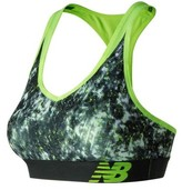 New Balance Women's WB71035 Pace Printed Sports Bra