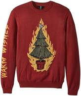 Volcom Men's Ugly Christmas Light up Sweater
