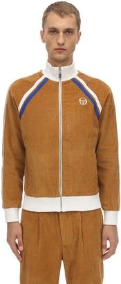 Sergio Tacchini Dario Cotton Corduroy Track Jacket