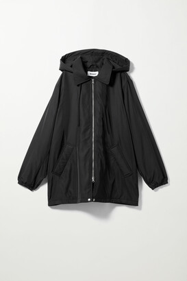 Weekday Byron Short Jacket - Black