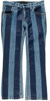 Alexander Wang Striped Mid-Rise Jeans w/ Tags