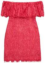 Rachel Zoe Off Shoulder Lace Dress