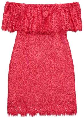 Rachel Zoe Off Shoulder Lace Dress