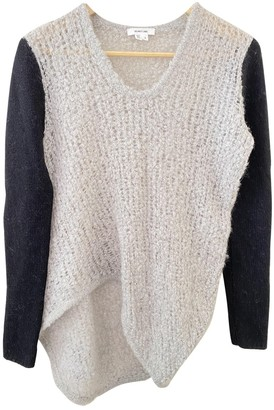 Helmut Lang Grey Wool Knitwear for Women