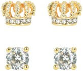 Juicy Couture Crown Expressions Stud Earring Set