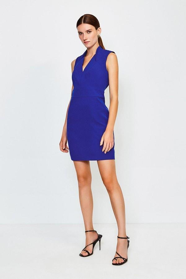 Karen Millen Cut Out Back Mini Dress