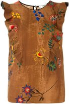 Fendi floral print top