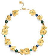 Tory Burch Flower Petal Statement Necklace