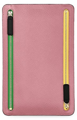 Smythson Panama Zip Currency Case