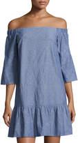 Waverly Grey Randy Off-the-Shoulder Eyelet Dress