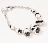Generation Gems Gemstone Cabochon Link Bracelet Sterling Silver
