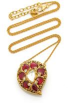 Amrapali Gold And Multi-Stone Necklace