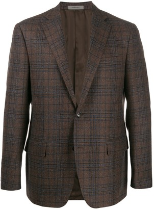 Corneliani Gate plaid blazer
