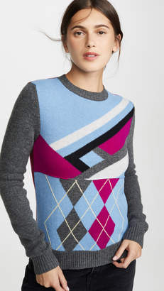Marni Wool Long Sleeve Crew Neck Sweater