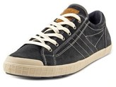 Gola Otter Round Toe Leather Sneakers.