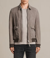 AllSaints Janko Leather Aviator Jacket