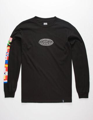 HUF World Tour Mens T-Shirt