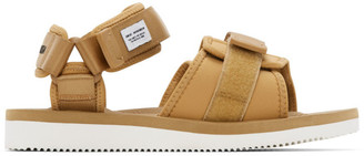 Suicoke Brown maharishi Edition Kuno-NS Sandals