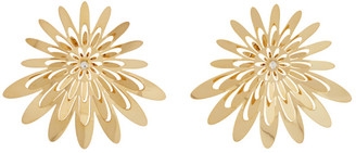 Y/Project Gold Flower Earrings