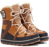 Sorel Glacy Explorer ShortieTM suede ankle boots