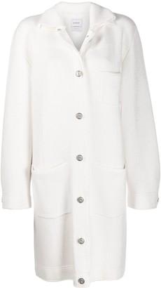 Barrie Sherpa collar coat