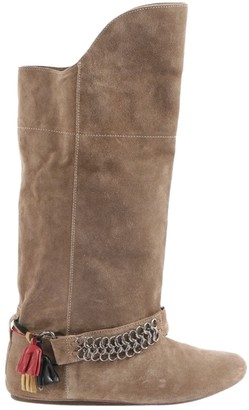 Isabel Marant Gaucho Brown Suede Boots