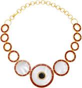 Monica Sordo Brujo Orbit Mother Of Pearl Necklace