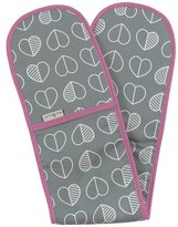 Beau and Elliot Confetti Outline Oven Gloves - Slate